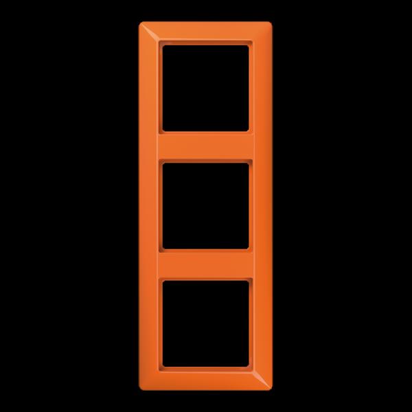 JUNG AS583BFO Rahmen 3-Fach Orange