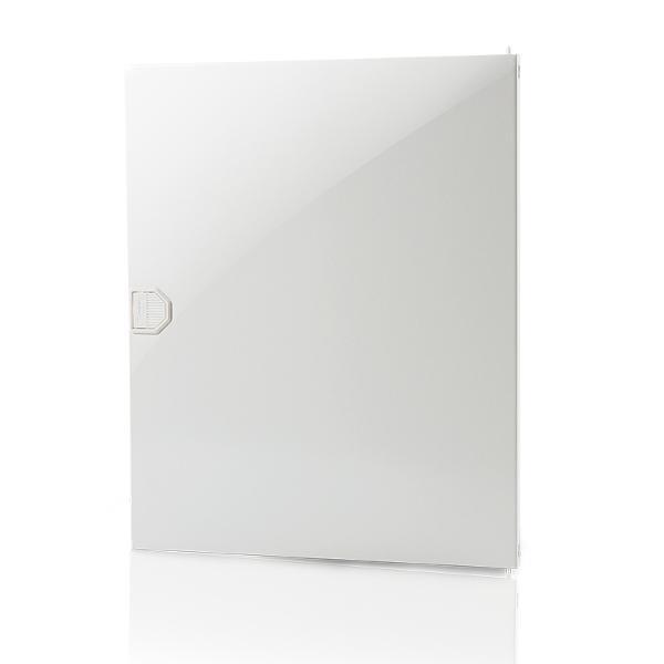 F-Tronic 7220054 Tür Kunststoff Vision, 2-Reihig, weiß