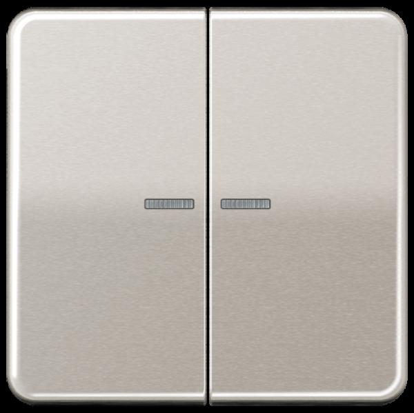 JUNG CD595KO5PT Kontroll-Serien-Wippe Platin