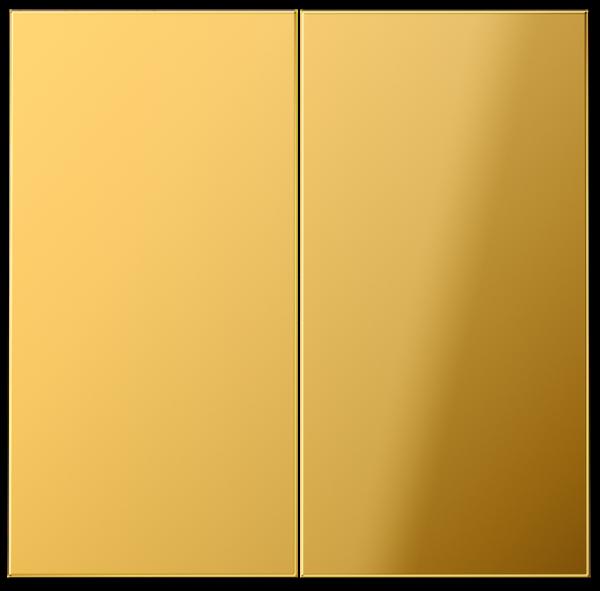 JUNG GO2995 Serien-Wippe Goldfarben