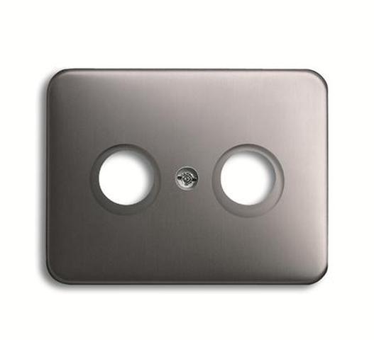 platin tv netzwerk alpha exclusive busch j ger schalter steckdosen steckdosen24. Black Bedroom Furniture Sets. Home Design Ideas