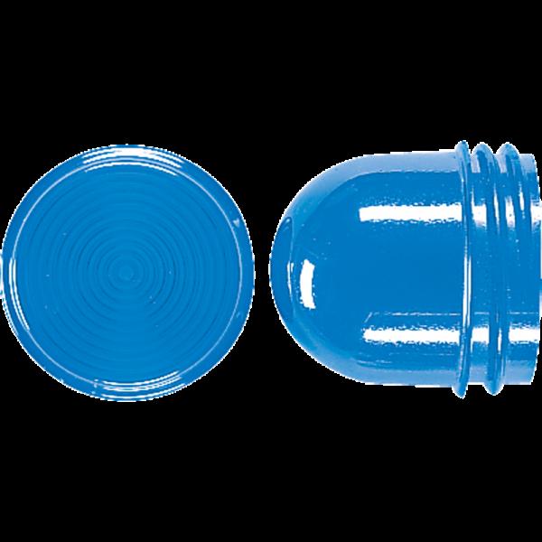JUNG 37BL Schraubhaube für Leuchtmittel 54mm Blau