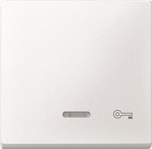 """Merten 430719 Kontroll-Wippe mit Symbol """"Schlüssel"""" Polarweiß"""