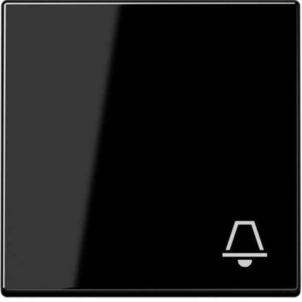 """JUNG A590KSW Wippe mit Symbol """"Klingel"""" Schwarz"""