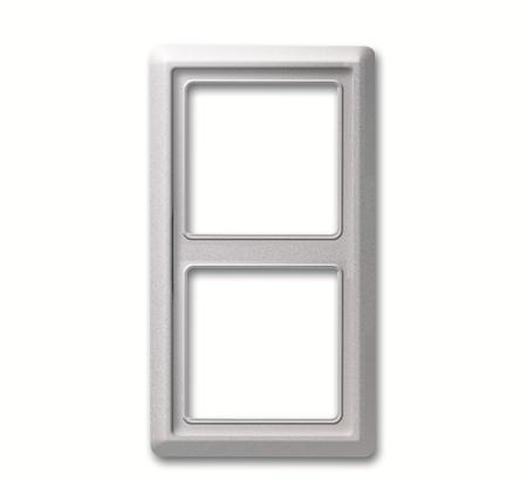 busch jaeger rahmen 2fach steckdosen24. Black Bedroom Furniture Sets. Home Design Ideas