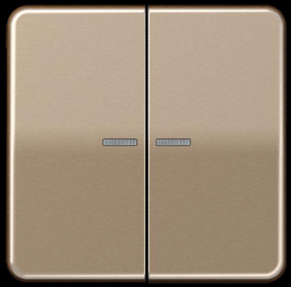 JUNG CD595KO5GB Kontroll-Serien-Wippe Gold-Bronze
