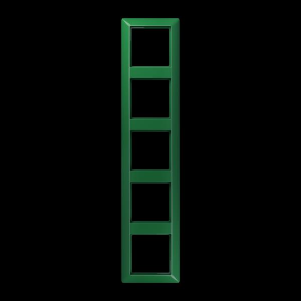 JUNG AS585BFGN Rahmen 5-Fach Grün