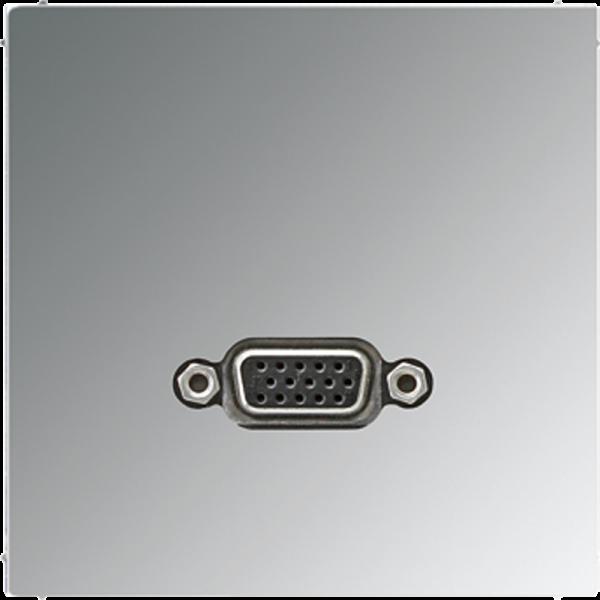 JUNG MAGCR1102 VGA Glanz-Chrom