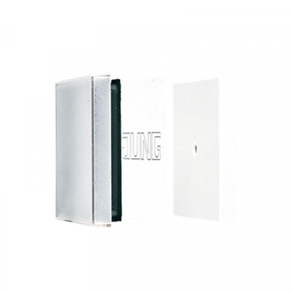 JUNG A590NAGL Transparente Wippe