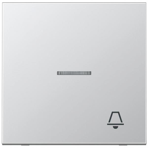 """JUNG AL2990KO5K Kontroll-Wippe mit Symbol """"Klingel"""" Aluminium"""