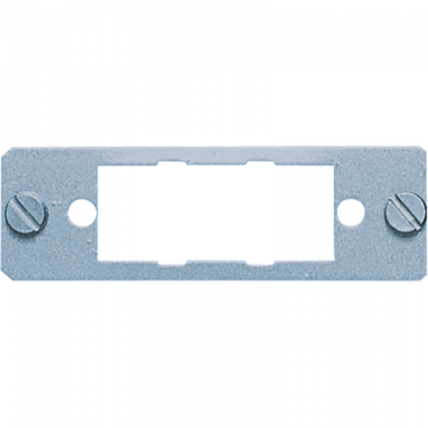 JUNG D15 Montageplatte für 15-poligen D-Subminiatur-Steckverbinder