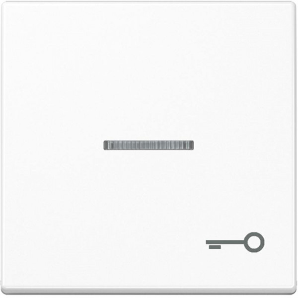 """JUNG A590KO5TWW Kontroll-Wippe mit Symbol """"Tür"""" Alpinweiß"""