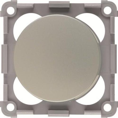Berker 928762568 Drehdimmer 12 V= mit Regulierknopf Integro Flow/Pure Chrom, Matt Lackiert