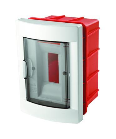 VI-KO Verteilerkasten Sicherungskasten 8 Module Unterputz 1-Reihig Weiß