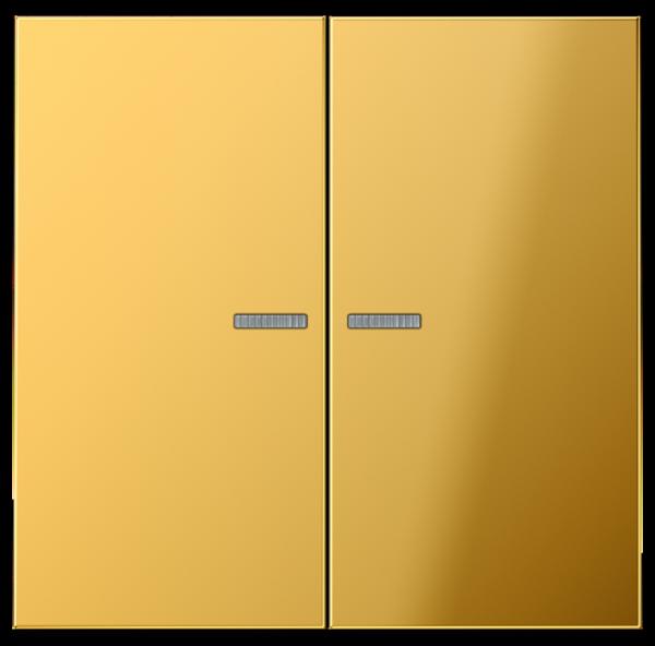 JUNG GO2995KO5 Kontroll-Serien-Wippe Goldfarben