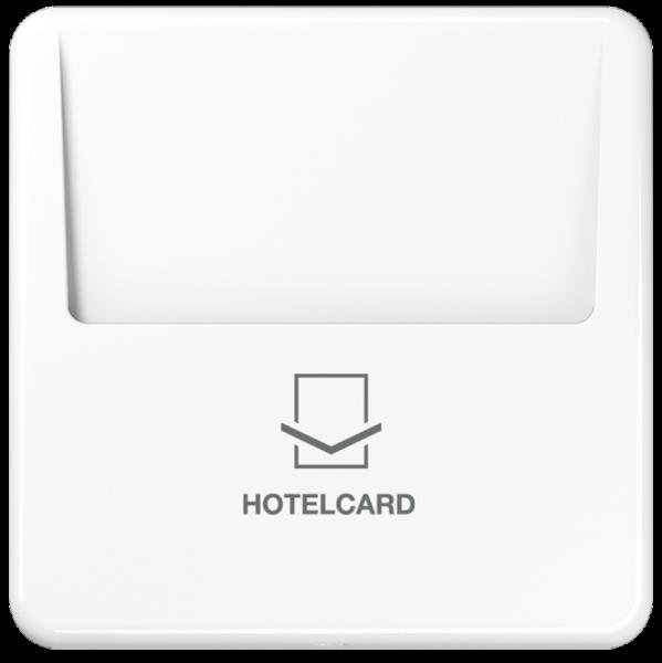 JUNG CD590CARDWW Hotelcard-Schalter Alpinweiß