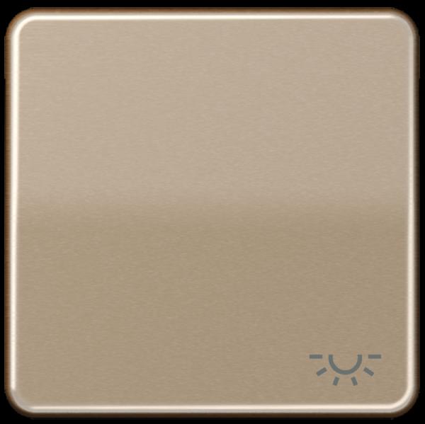 """JUNG CD590LGB Wippe mit Symbol """"Licht"""" Gold-Bronze"""