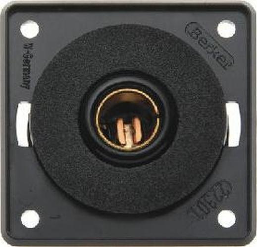 Berker 9451705 Steckdose 12 V, Integro Modul-Einsätze, Schwarz Matt