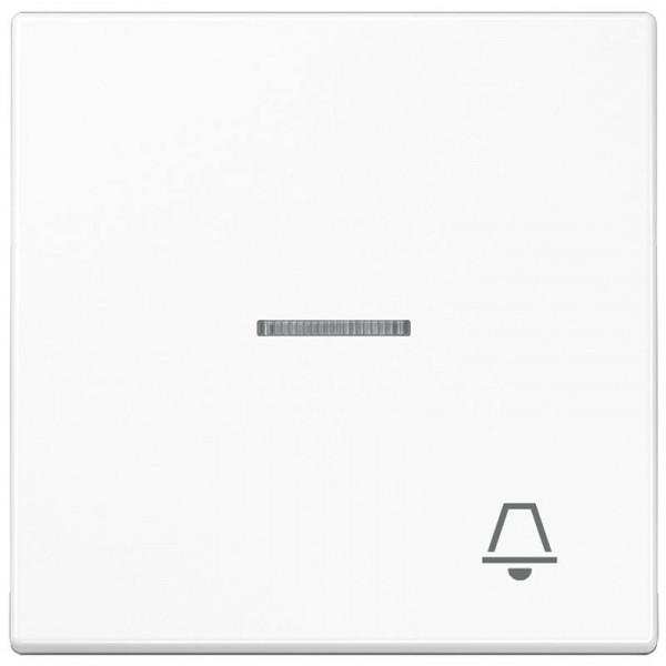 """JUNG LS990KO5KWW Kontroll-Wippe mit Symbol """"Klingel"""" Alpinweiß"""