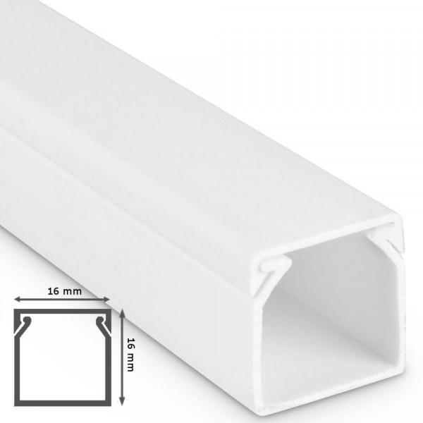 kabelkanal 16x16x2000mm alpinwei kabelkanal pvc bohren. Black Bedroom Furniture Sets. Home Design Ideas