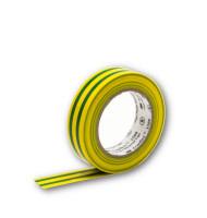 3M Isolierband 10m Gewebeband 15mm Breit Grün/Gelb