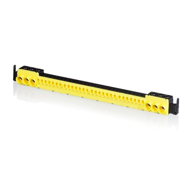 F-Tronic 9910012 PE-Steckklemme, 6x25mm² schraubbar und 28x4mm² steckbar