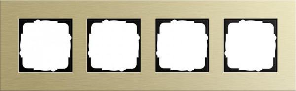 GIRA 0214217 Rahmen 4-Fach Esprit Aluminium-Hellgold