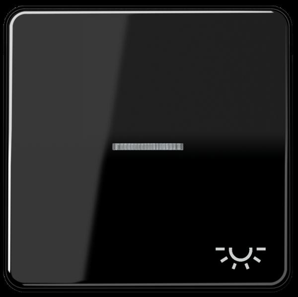 """JUNG CD590KO5LSW Kontroll-Wippe mit Symbol """"Licht"""" Schwarz"""