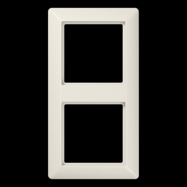 JUNG AS582 Rahmen 2-Fach Cremeweiß