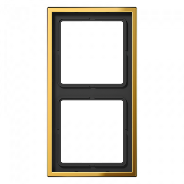 JUNG GO2982 Rahmen 2-Fach LS-Serie Goldfarben
