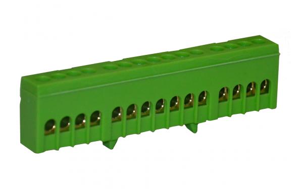 Tehnoplast PE15 Schutzleiterklemme Grün 15x16mm² Verteilerklemme