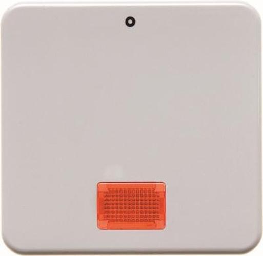 Berker 155809 Wippe mit roter Linse und Aufdruck '0' wg Up IP44 Polarweiß, Glänzend