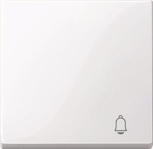 """Merten MEG3305-0325 Wippe mit Symbol """"Klingel"""" Aktivweiß-Glänzend"""
